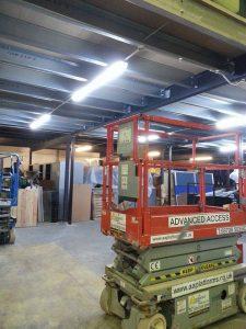 Under Mezzanine Lighting